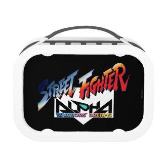 Street Fighter Alpha Logo Replacement Plate