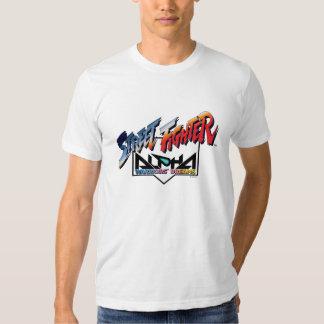 Street Fighter Alpha Logo Shirt