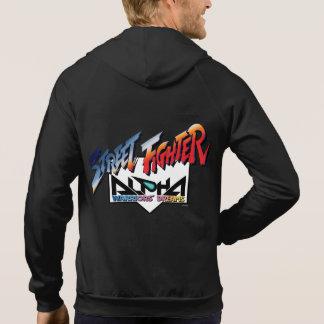 Street Fighter Alpha Logo Sweatshirts