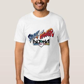 Street Fighter Alpha Logo T Shirt