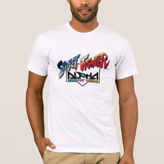 Street Fighter Alpha Logo T-Shirt