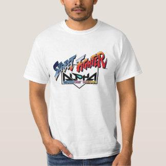 Street Fighter Alpha Logo T Shirts