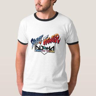 Street Fighter Alpha Logo T-shirts