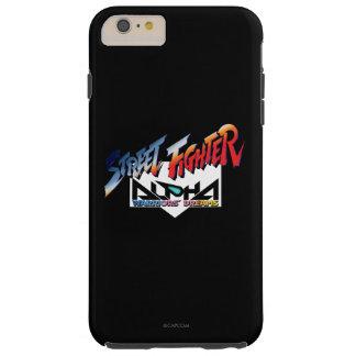 Street Fighter Alpha Logo Tough iPhone 6 Plus Case