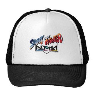 Street Fighter Alpha Logo Trucker Hat