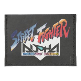 Street Fighter Alpha Logo Tyvek® Card Wallet
