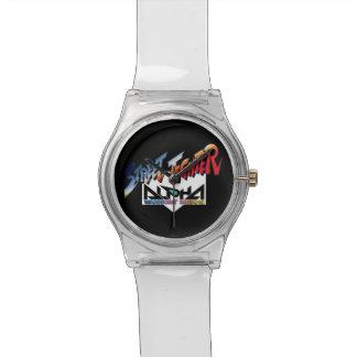 Street Fighter Alpha Logo Watches