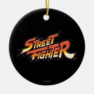 Street Fighter Brand Logo Ceramic Ornament
