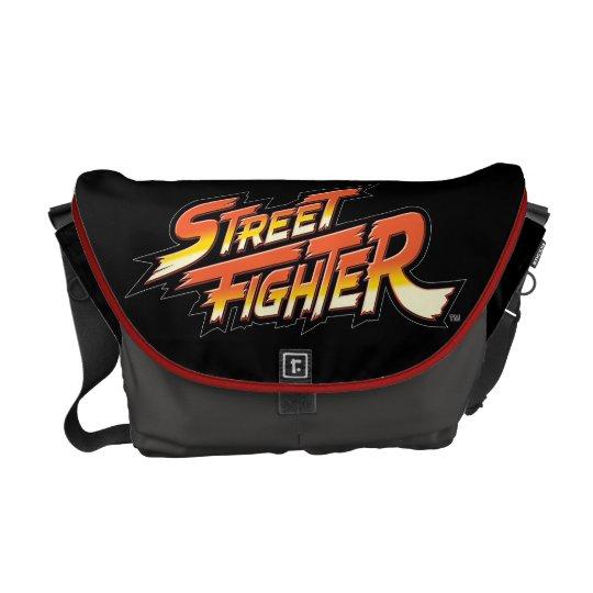 Street Fighter Brand Logo Messenger Bag