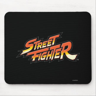 Street Fighter Brand Logo Mouse Pads
