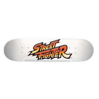 Street Fighter Brand Logo Skateboard Deck
