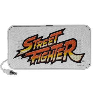 Street Fighter Brand Logo Travel Speakers