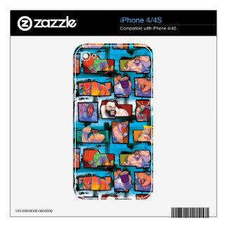 Street Fighter estupendo II Turbo Skins Para eliPhone 4S
