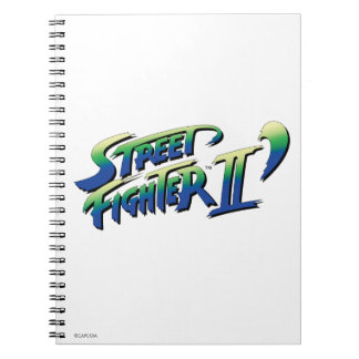 Street Fighter II' Logo 2 Note Books