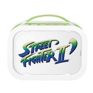 Street Fighter II' Logo 2 Yubo Lunchbox