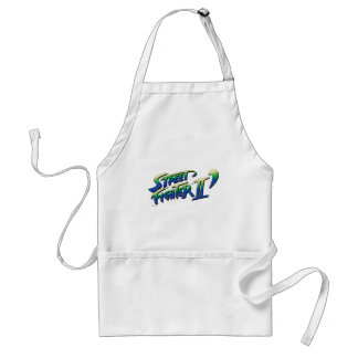 Street Fighter II' Logo Adult Apron