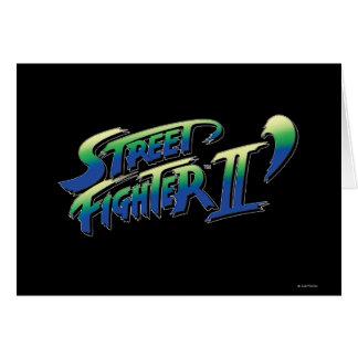 Street Fighter II' Logo Card
