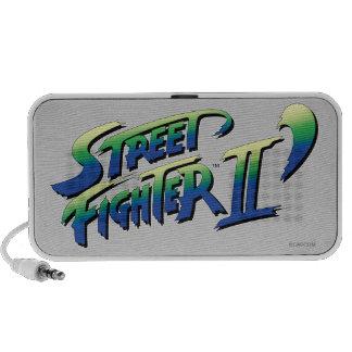 Street Fighter II' Logo Laptop Speakers