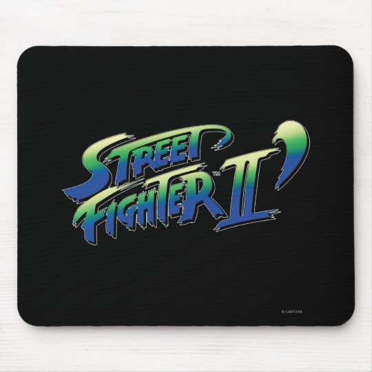 Street Fighter II' Logo Mouse Pad