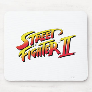 Street Fighter II Logo Mouse Pad
