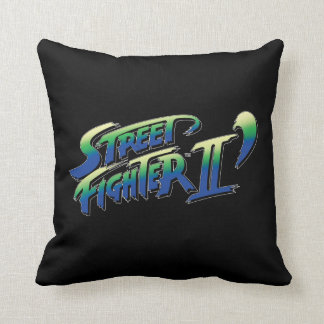 Street Fighter II' Logo Pillow