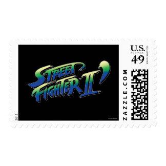 Street Fighter II' Logo Postage Stamp
