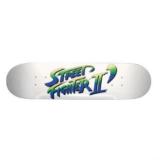 Street Fighter II' Logo Skateboard Deck