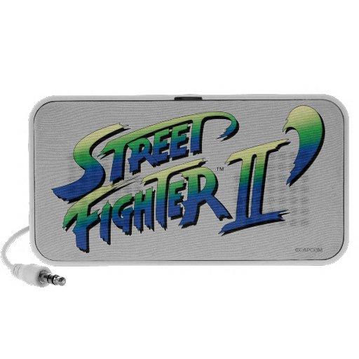 Street Fighter II' Logo Speaker System
