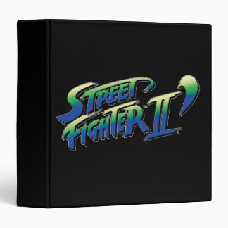Street Fighter II' Logo Vinyl Binders