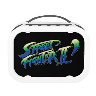Street Fighter II' Logo Yubo Lunch Box