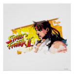 Street Fighter II Ryu Poster