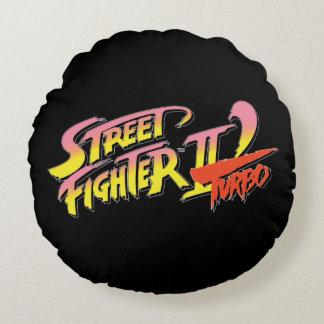 Street Fighter II Turbo 2 Cojín Redondo