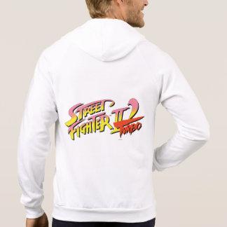 Street Fighter II Turbo 2 Jersey Encapuchado