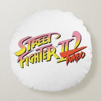 Street Fighter II Turbo Cojín Redondo