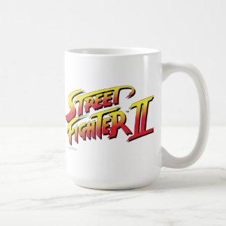 Street Fighter II Turbo HD remezcla el logotipo 2 Taza De Café