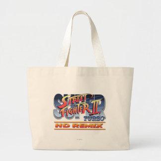 Street Fighter II Turbo HD remezcla el logotipo Bolsa De Mano