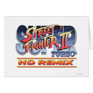 Street Fighter II Turbo HD remezcla el logotipo Felicitaciones