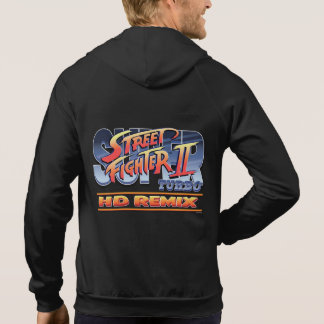 Street Fighter II Turbo HD Remix Logo Hooded Sweatshirt