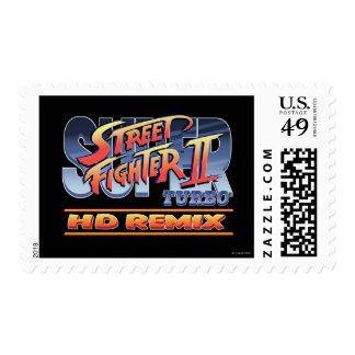 Street Fighter II Turbo HD Remix Logo Postage