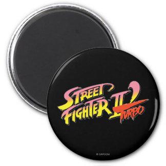 Street Fighter II Turbo Imán Redondo 5 Cm
