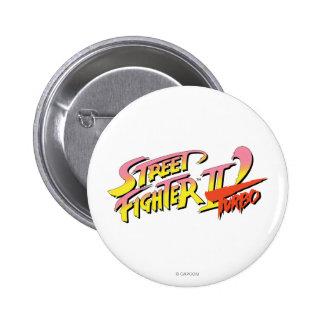 Street Fighter II Turbo Pinback Button