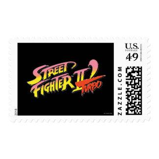 Street Fighter II Turbo Postage Stamp