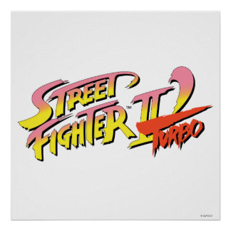 Street Fighter II Turbo Póster