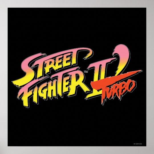 Street Fighter II Turbo Poster