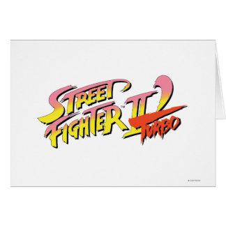 Street Fighter II Turbo Tarjeta De Felicitación