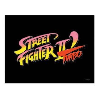 Street Fighter II Turbo Tarjeta Postal