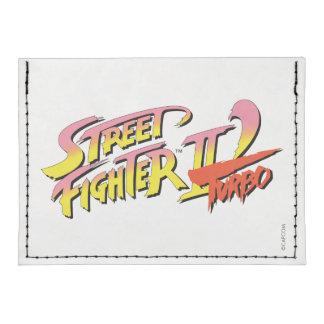 Street Fighter II Turbo Tarjeteros Tyvek®