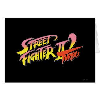 Street Fighter II Turbo Tarjetón