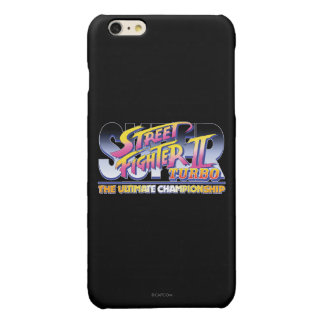 Street Fighter II Turbo UC Logo 2 Glossy iPhone 6 Plus Case