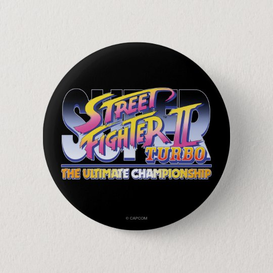 Street Fighter II Turbo UC Logo Button